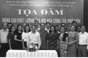 Hội Luật gia tỉnh Nghệ An tổ chức hội nghị tập huấn và tọa đàm