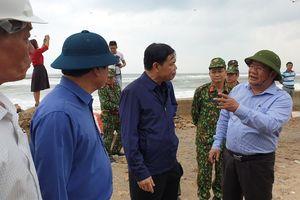 Bộ trưởng Nguyễn Xuân Cường: Bão có đường đi và tốc độ cực kỳ nguy hiểm, không được chủ quan!