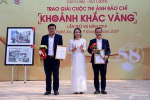 Báo Nghệ An trao giải ảnh 'Khoảnh khắc Vàng', phát động cuộc thi hình ảnh lần thứ 9