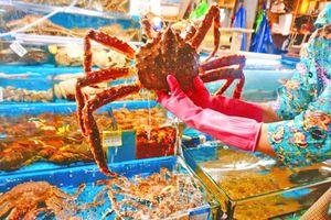 Ghé thăm chợ hải sản gần 100 tuổi tại Hàn Quốc