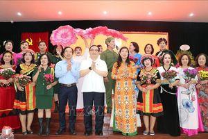 Bí thư Thành ủy Hà Nội dự Ngày hội Đại đoàn kết toàn dân tộc tại phường Hàng Bài