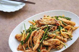Học người Hàn làm món thịt trộn siêu tốc, cả nhà ăn khen không hết lời