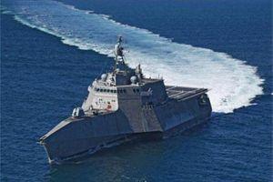 Chiến hạm 3 thân Mỹ 'xé sóng' thị uy sức mạnh trên biển Đông