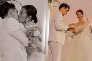 Ảnh đẹp lung linh: Giây phút nên vợ thành chồng của Đông Nhi - Ông Cao Thắng dưới hoàng hôn thơ mộng