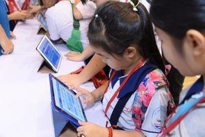 650 học sinh tiểu học tìm hiểu về tái chế trong quản lý chất thải