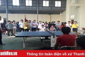 Khai mạc giải bóng bàn, cầu lông người giáo viên nhân dân huyện Vĩnh Lộc