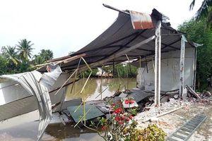 Thiệt hại do thiên tai gây ra trên 21,1 tỉ đồng