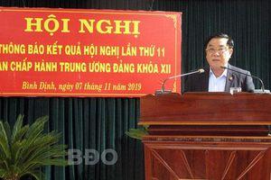 Bình Định thông báo kết quả Hội nghị Trung ương lần thứ 11 khóa XII