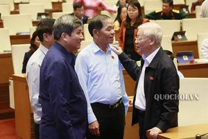 Hình ảnh bên lề phiên chất vấn chiều ngày 08/11, Kỳ họp thứ 8 Quốc hội khóa xiv