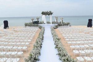 Không gian lễ cưới lãng mạn và hoành tráng của Đông Nhi - Ông Cao Thắng