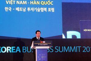 Đẩy mạnh hợp tác kinh doanh Việt Nam - Hàn Quốc