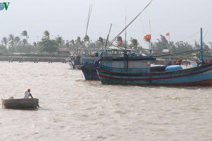 Phú Yên cảnh báo ngư dân không được chủ quan với bão số 6