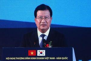 Việt Nam mong muốn đẩy mạnh xúc tiến thương mại với Hàn Quốc