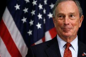 Tỷ phú Michael Bloomberg tham gia tranh cử Tổng thống Mỹ năm 2020