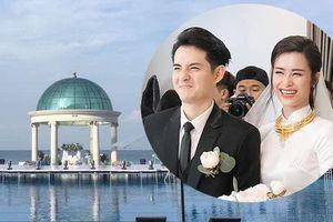 Lễ cưới Đông Nhi - Ông Cao Thắng: Không gian hoàn thiện, đẹp lung linh giữa biển