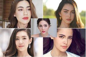 Nhan sắc quyến rũ của top 5 'bông hồng lai' đẹp nhất màn ảnh Thái Lan