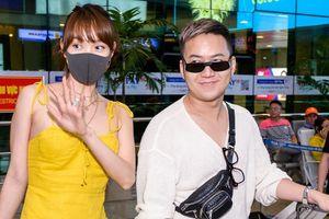Khán giả xin chữ ký, chụp hình khi dàn sao Việt về đến Tân Sơn Nhất