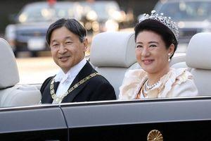 Người dân Nhật Bản chào đón lễ diễu hành sau đăng quang của Nhật hoàng Naruhito