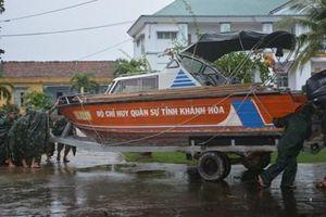 Quân dân Khánh Hòa chủ động chống bão