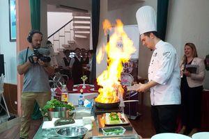 Cảm hứng sáng tạo mới từ nghề nấu ăn