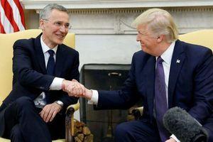 Tổng thống Mỹ sắp gặp Tổng thư ký NATO tại Nhà Trắng