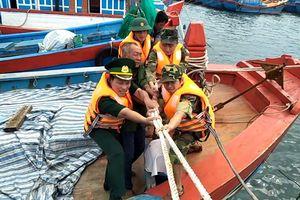 BĐBP Quảng Ngãi quyết tâm không để nhân dân mất an toàn khi bão số 6 đổ bộ