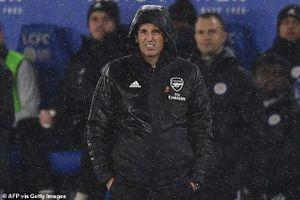 Thua bạc nhược Leicester, HLV Arsenal phát biểu 'sốc'