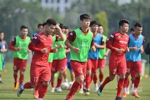 5 cầu thủ bị gạch khỏi danh sách đội tuyển Việt Nam trong trận gặp UAE