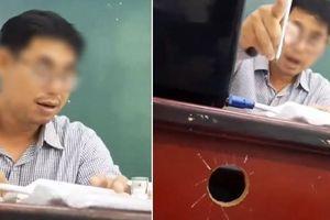 Clip thầy xưng hô mày - tao với học trò trên lớp, gọi nữ sinh Diễm Trang là Giảng Chim