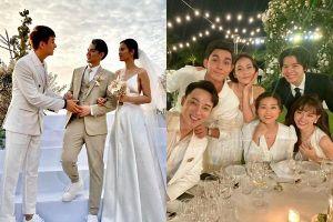 Lầy như sao Việt dự đám cưới Đông Nhi: Ngô Kiến Huy 'đá xéo' cô dâu, Thu Minh tưởng mình là nhân vật chính
