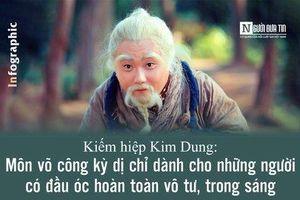 Kiếm hiệp Kim Dung: Môn võ công kỳ dị chỉ dành cho những người có đầu óc hoàn toàn vô tư, trong sáng