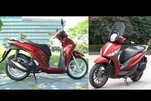 So sánh chi tiết Honda SH 2020 với đối thủ Piaggio Medley