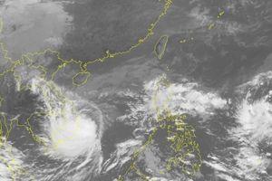 Tin mới bão số 6: Mây bão lệch tâm, gây mưa, gió cực đại trên đất liền
