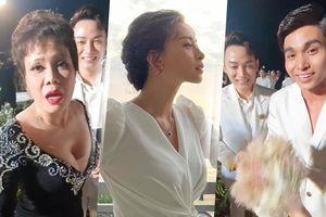 Bị ép nhận hoa cưới của Đông Nhi, Ngô Thanh Vân ngộ ra: 'Tình yêu là phải giật thôi!'