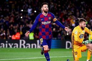 Messi thăng hoa với hat-trick, Barca trở lại quỹ đạo chiến thắng