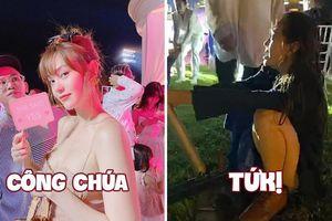 Nhìn lại màn biến hóa từ công chúa lộng lẫy thành 'cô gái đáng thương' của Minh Hằng trong tiệc cưới vừa xong: Đồng cảm!