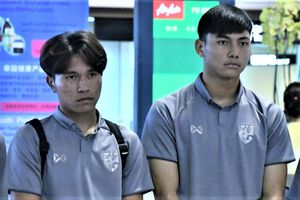 U19 Thái Lan về nước sau khi bị loại khỏi giải châu Á