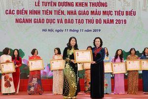 Vinh danh 125 nhà giáo mẫu mực tiêu biểu của ngành Giáo dục Hà Nội