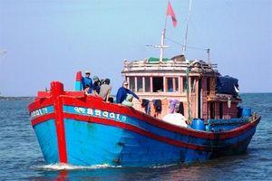 2 tàu cá Quảng Ngãi ở Philippines đang cạn kiệt nhiên liệu và lương thực