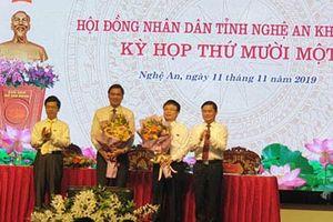 Nghệ An bầu bổ sung hai Phó Chủ tịch UBND tỉnh