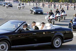 Nhật hoàng và Hoàng hậu diễu hành sau đăng quang