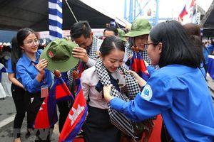 Tàu Thanh niên Đông Nam Á và Nhật Bản đến TPHCM