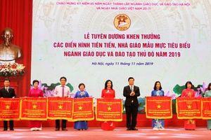 Hà Nội tuyên dương các điển hình tiên tiến, nhà giáo tiêu biểu