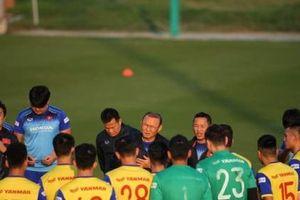 Đội tuyển Việt Nam lên danh sách trước trận gặp UAE và Thái Lan