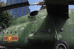 Trực thăng khổng lồ 'huyền thoại' của Không quân Việt Nam