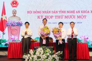 Nghệ An có 2 Phó Chủ tịch UBND tỉnh mới