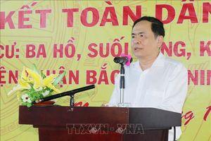 Ngày hội Đại đoàn kết toàn dân tộc tại Ninh Thuận