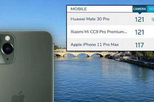 DxOMark: Camera iPhone 11 Pro Max đứng thứ 3 trên thế giới, thua Xiaomi và Huawei