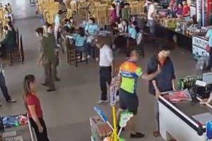 Đình chỉ cán bộ công an tát nhân viên bán hàng tại Thái Nguyên