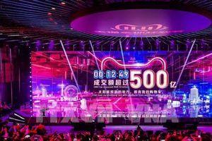 Doanh thu Alibaba vượt mốc 30 tỷ USD trong ngày mua sắm 'độc thân'